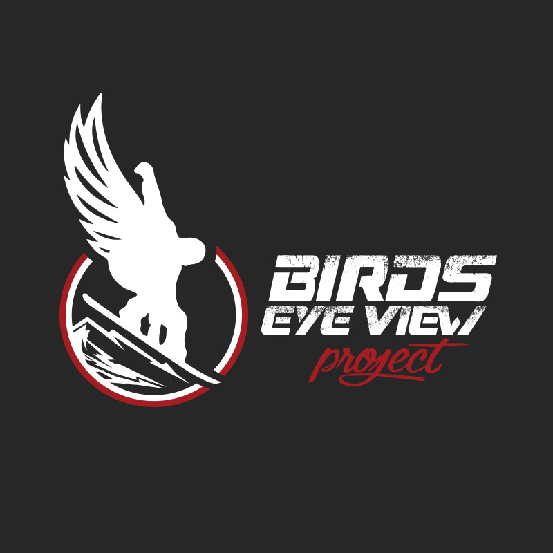 birds eye view project events identity design production