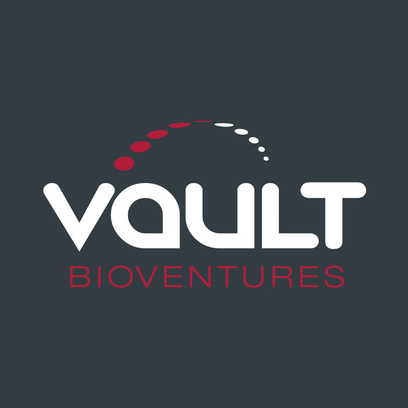vault bioventures strategy identity design illustration